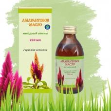 АМАРАНТОВОЕ масло, холодный отжим, сквален 6%-8%, натуральное 100%, 500 мл, ИП Белов, Ивановская область
