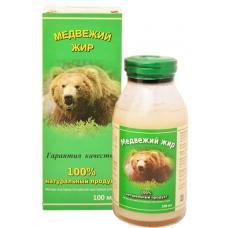 МЕДВЕЖИЙ жир, жир бурого медведя, натуральный 100%, ИП Белов, Ивановская область, 100 мл СТЕКЛО