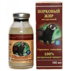 НОРКОВЫЙ жир, жир норки, натуральный 100%, ИП Белов, Ивановская область, 100 мл СТЕКЛО
