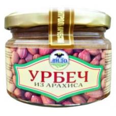 АРАХИС, 100%  ТРАДИЦИОННЫЙ фермерский урбеч из арахиса БЕЗ ДОБАВОК, подходит СЫРОЕДАМ, ДИДО, ДАГЕСТАН, 250 гр