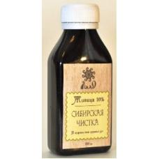 живица кедровая 10% , Сибирская чистка, для ослабленных, детей и стариков, 100 мл