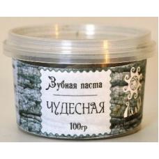ЧУДЕСНАЯ, кедровая зубная паста, ЛадоЯр, Урал, 100 гр