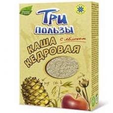Кедровая Каша ТРИ ПОЛЬЗЫ с яблоком, 10 порций, 250 гр