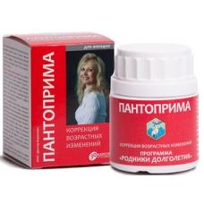 ПАНТОПРИМА, для ЖЕНЩИН, от СТАРЕНИЯ, оригинальная запатентованная вытяжка ПАНТОВ марала алтайского, Доктор Корнилов, 30 капсул на 1 курс