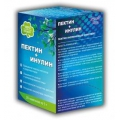 ПЕКТИН + ИНУЛИН, чистый организм,  20 саше по 5 гр, всего 100 гр, ПОЛИНКА