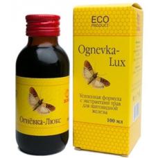ЛЮКС для ЩИТОВИДНОЙ железы, огнёвка пчелиная 30% с экстрактами трав, концентрат LUX, НЕ СПИРТОВОЙ, ВОСКОВАЯ МОЛЬ и ПРОПОЛИС, Тверь, 100 мл