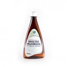 ЛЬНЯНОЕ масло, лён, без консервантов, холодный отжим, натуральное, ДИВИНКА, Алтай, 500 мл