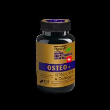 ОСТЕО плюс, подвижные СУСТАВЫ и ПОЗВОНКИ, Капсулы МОЛОДОСТИ, herbs collagenol OSTEO+, 108 капсул на 1 курс