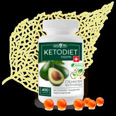 КЕТОДИЕТнорм, KETODIETnorm, для ПОХУДЕНИЯ, Фигура, Вес, диета в КЕТО-РЕЖИМЕ, Масляный МАТРИКС из лекарственных растений, Сиб-Крук, 400 капсул на 1 курс 40 дней