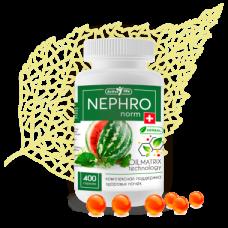 НЕФРОнорм, NEPHROnorm, ПОЧКИ, цистит, камни, подагра, давление, Масляный МАТРИКС из лекарственных растений, Сиб-Крук, 400 капсул на 1 курс 40 дней