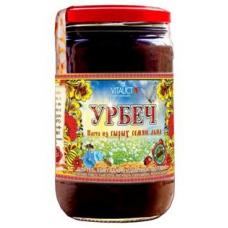 ЛЬНЯНОЙ урбеч, из коричневого льна с добавлением МЁДА, традиционный, 100%